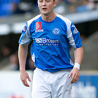 St Johnstone FC Season 2012-13<br /> Tam Scobbie<br /> Picture by Graeme Hart.<br /> Copyright Perthshire Picture Agency<br /> Tel: 01738 623350  Mobile: 07990 594431
