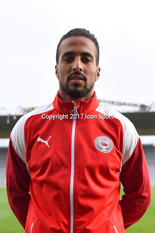 Rachid Alioui of Nimes during the Ligue 2 match between Nimes and Aj auxerre on September 15, 2017 in Nimes, France. (Photo by Alexandre Dimou/Icon Sport)