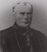 Archbishop Croke, after whom Croke Park is named. He was the first patron of the GAA and supported the organisation in many ways, including donating two cups for competitions.