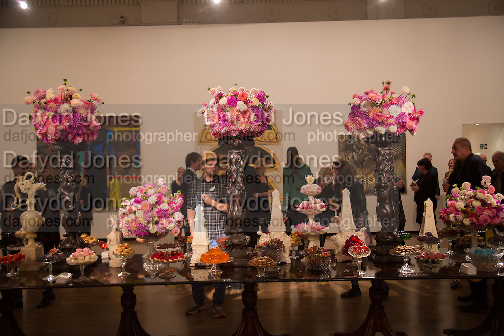 ALEX CHASE WHITE, Gala Opening of RA Now. Royal Academy of Arts,  8 October 2012.
