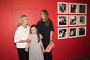 DIANA DONOVAN; MAISIE MASER; DAISY DONOVAN; , Preview of Terence Donovan: Speed of Light, Photographers Gallery, Ramillies Place, Thursday 14 July 2016,