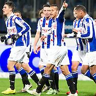 Voetbal Heerenveen Eredivisie 2014-2015 SC Heerenveen - Vitesse: Luciano Slagveer (SC Heerenveen)