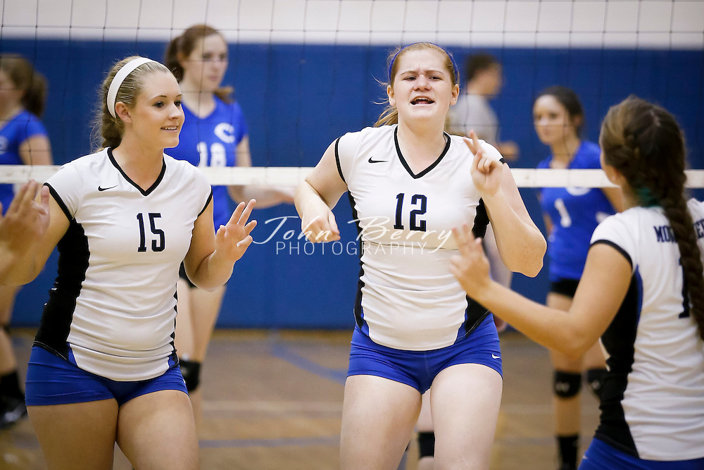 September/19/13:   MCHS Varsity Volleyball vs Central Woodstock.  Madison defeats the Falcons 3-0 (25-15, 25-12, 25-9).  Madison is now 10-0 for the season, eight of those wins were 3-0 shutouts.