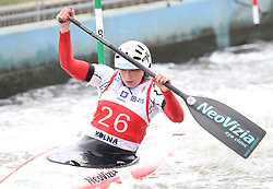 July 1, 2018 - Krakow, Poland - 2018 ICF Canoe Slalom World Cup 2 in Krakow. Day 2. On the picture: SONA STANOVSKA (Credit Image: © Damian Klamka via ZUMA Wire)