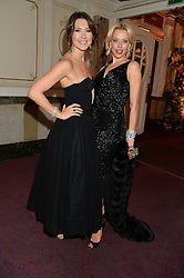 Left to right, ADELY IVDINA and ELENA LIKHACH at The Backstage Gala hosted by Diana Vishneva , Principal Dancer of the Mariinsky and American Ballet Theatre, and Natalia Vodianova in aid of The Naked Heart Foundation held at The London Coliseum, St.Martin's Lane, London on 17th April 2015.