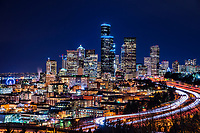 Downtown Seattle Illuminated