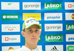 Peter Prevc during press conference of Slovenian Ski jumping team before  2015 FIS Ski Jumping Summer Grand Prix, on July 28, 2015 in SZS, Ljubljana, Slovenia. Photo by Vid Ponikvar / Sportida