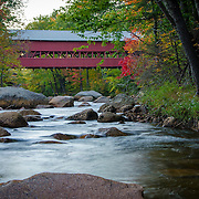 The Swift River Bridge in Conway, NH