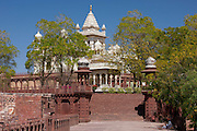 Jaswant Thada, the Maharaja of Jodhpur Memorial, built 1906, at Jodhpur in Rajasthan, Northern India