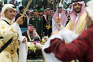 Saudi King Dances The Traditional Ardha - 20 Feb 2018