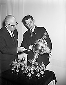 1959 - Presentation of Esso trophy to Amateur Drama Council
