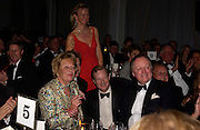 Mrs. John Dunlop, Earl and Countess of Derby, Andrew Parker -Bowles. The 2004 Cartier Racing awards, Four Seasons Hotel. London. 17 November 2004. ONE TIME USE ONLY - DO NOT ARCHIVE  © Copyright Photograph by Dafydd Jones 66 Stockwell Park Rd. London SW9 0DA Tel 020 7733 0108 www.dafjones.com