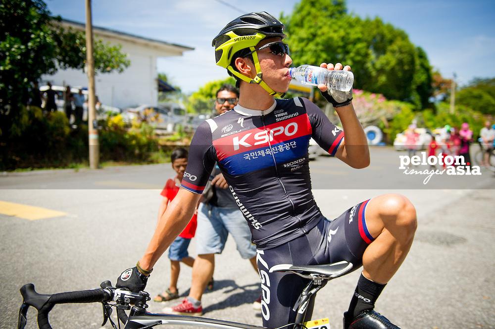 Le Tour de Langkawi 2015/ Stage3/ Gerik - Tanah Merah/ KSPO/ Seo,Joon Yong