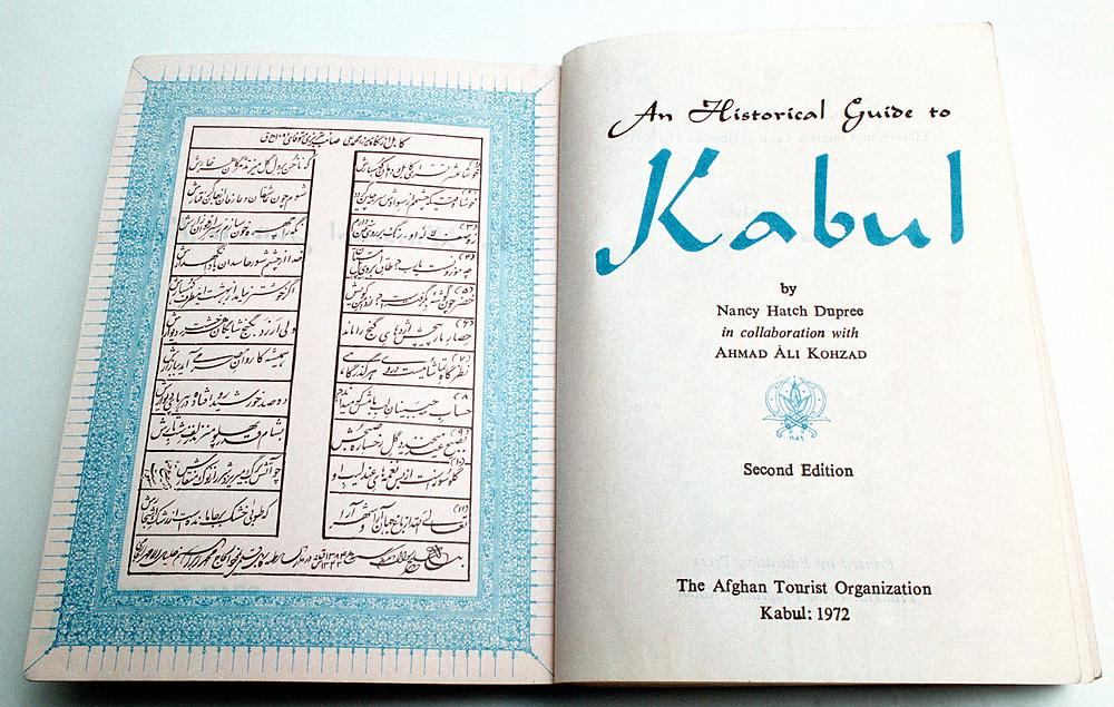 AFGHANISTAN historisch - 1972<br />&quot; A Historical Guide to Kabul &quot; by Nancy Hatch Dupree<br />(in collaboration with Ahmad Ali Kohzad)<br />Herrausgeber: The Afghan Tourist Organization 1972<br />Ber&uuml;hmter Reisef&uuml;hrer aus den Siebziger Jahren...<br />Repro by Christian Jungeblodt