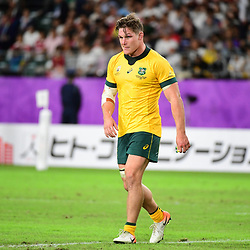 Michael HOOPER of Australia during the Rugby World Cup 2019 Quarter Final match between England and Australia on October 19, 2019 in Oita, Japan. (Photo by Dave Winter/Icon Sport) - Michael HOOPER - Oita Stadium - Oita (Japon)