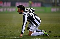 Fabio Quagliarella Juventus.Calcio Cagliari vs Juventus .Serie A - Parma 21/12/2012 Stadio Ennio Tardini.Football Calcio 2012/2013.Foto Federico Tardito Insidefoto.