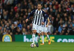 Grzegorz Krychowiak of West Bromwich Albion - Mandatory by-line: Paul Roberts/JMP - 16/09/2017 - FOOTBALL - The Hawthorns - West Bromwich, England - West Bromwich Albion v West Ham United - Premier League