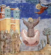 Giotto di Bondone Fresco cycle on the life of St. Francis of Assisi