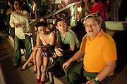 SPRING DAUTEL; EMMA HALL; ALEX GARDENFELD; NORMAN ROSENFIELD, Jay Jopling hosts a party at Soho House. Miami Beach. Miami art Basel. 30 November 2010. -DO NOT ARCHIVE-© Copyright Photograph by Dafydd Jones. 248 Clapham Rd. London SW9 0PZ. Tel 0207 820 0771. www.dafjones.com.