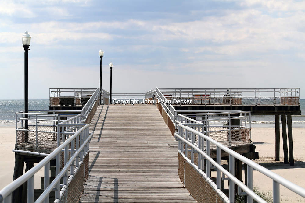 Fishing pier, Wildwood Crest, New Jersey