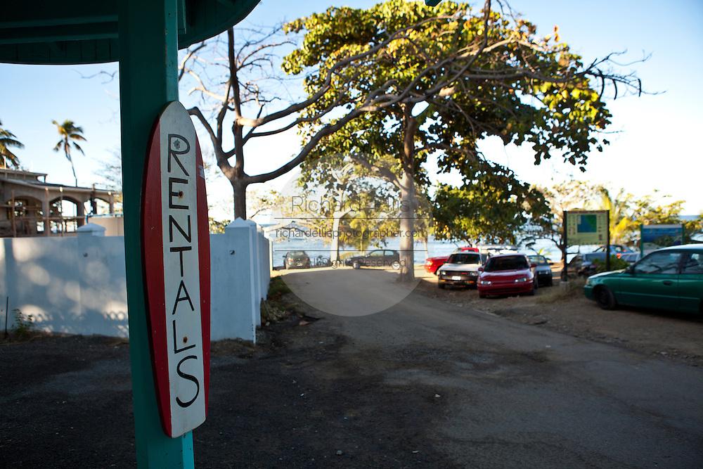 Famous surf beach Las Marias in Rincon Puerto Rico