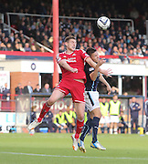 Aberdeen's Ash Taylor and Dundee's Thomas Konrad - Dundee v Abderdeen, SPFL Premiership at Dens Park<br /> <br />  - &copy; David Young - www.davidyoungphoto.co.uk - email: davidyoungphoto@gmail.com