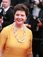 Actress and President of the Un Certain Regard Jury Isabella Rossellini at the gala screening for the film Sicario at the 68th Cannes Film Festival, Tuesday May 19th 2015, Cannes, France.