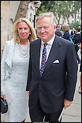 LORD AND LADY BAMFORD, Memorial service for Mark Shand.  . St. Paul's Knightsbridge. September 11 2014.