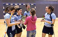 ROTTERDAM -  Laren D2 kampioen tijdens het Landskampioenschap reserveteam zaal 2013. FOTO KOEN SUYK