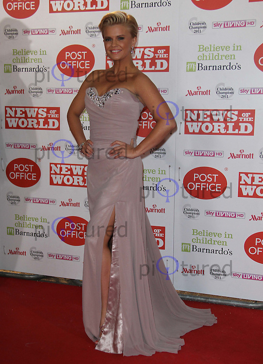 Kerry Katona News Of The World Children's Champions, Grosvenor House Hotel, Park Lane, London, UK, 30 March 2011:  Contact: Rich@Piqtured.com +44(0)7941 079620 (Picture by Richard Goldschmidt)