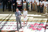 072114 Spanish Royals receive 'Ruta Quetzal BBVA 2014'