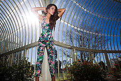 Model Rozanna Purcell is pictured at the launch of Heatons 2013 summer range. The new range is packed full of bright colours and feminine prints, inspired by the latest runway trends. Heatons new collection makes it effortless to look good this summer, with key statement pieces that can be mixed and matched to help make the most of your wardrobe. For more information visit  www.heatonstores.com.