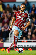 Winston Reid of West Ham United during the Capital One Cup match at the Boleyn Ground, London<br /> Picture by David Horn/Focus Images Ltd +44 7545 970036<br /> 26/08/2014