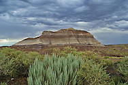 Painted Desert, Petrified Forest National Park,Arizona.