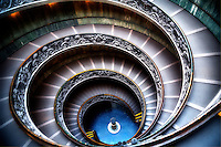 """The Vatican Museums double helix spiral staircase""…<br />