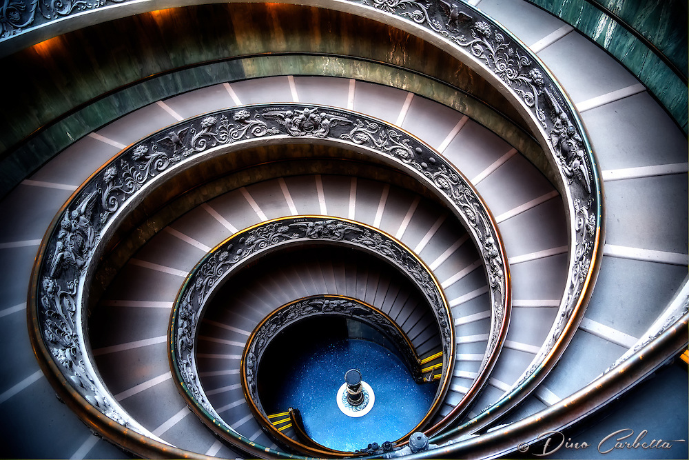 &ldquo;The Vatican Museums double helix spiral staircase&rdquo;&hellip;<br />
