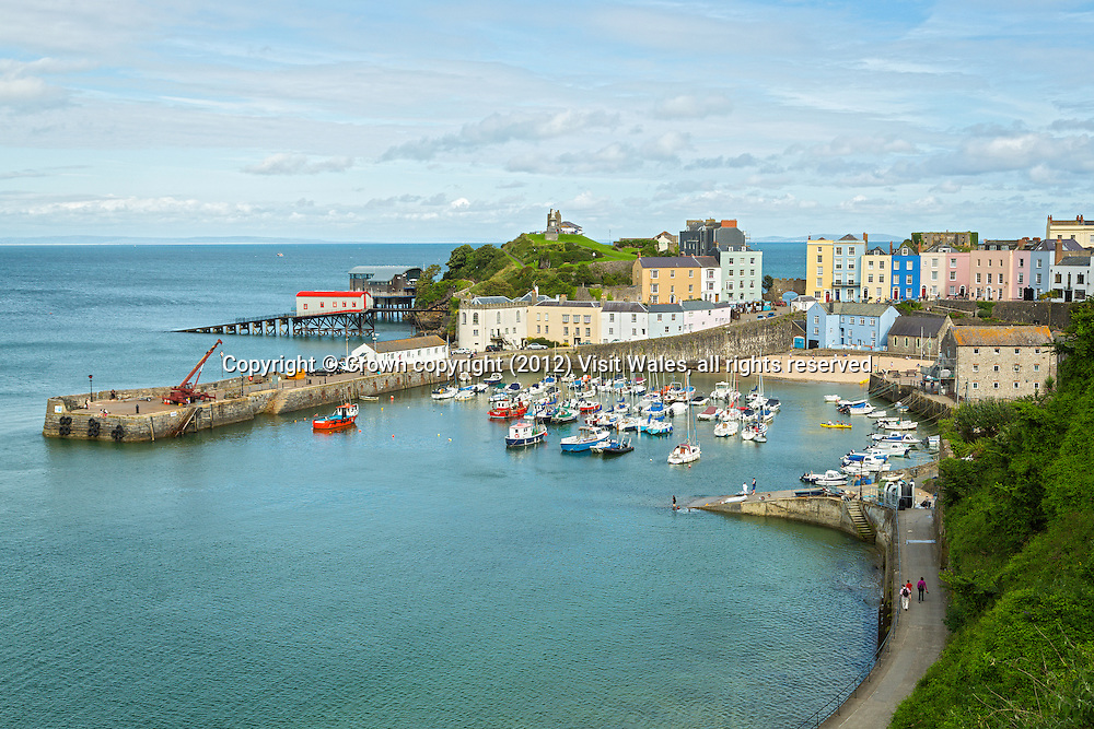 Harbour<br /> Tenby<br /> Pembrokeshire<br /> South<br /> Towns and Villages