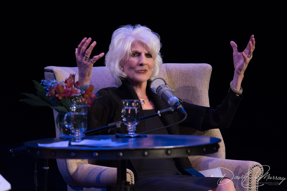 NHPR's Virginia Prescott interviews Diane Rehm at The Music Hall, May 2, 2017
