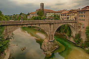 Devil's Bridge over Natisone River, Cividale del Friuli, Italy