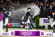 Isabell Werth - Weihegold<br /> FEI Longines FEI World Cup Paris 2018<br /> &copy; DigiShots