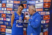 DESCRIZIONE : Parma Palaciti Nazionale Italia femminile Basket Parma<br /> GIOCATORE :  Francesca Mariani Giancarlo Migliola<br /> CATEGORIA : curiosita intervista<br /> SQUADRA : Italia femminile<br /> EVENTO : amichevole<br /> GARA : Italia femminile Basket Parma<br /> DATA : 13/11/2012<br /> SPORT : Pallacanestro <br /> AUTORE : Agenzia Ciamillo-Castoria/ GiulioCiamillo<br /> Galleria : Lega Basket A 2012-2013 <br /> Fotonotizia :  Parma Palaciti Nazionale Italia femminile Basket Parma<br /> Predefinita :