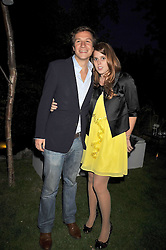 PRINCESS BEATRICE OF YORK and DAVE CLARK at The Ralph Lauren Sony Ericsson WTA Tour Pre-Wimbledon Party hosted by Richard Branson at The Roof Gardens, London on June 18, 2009