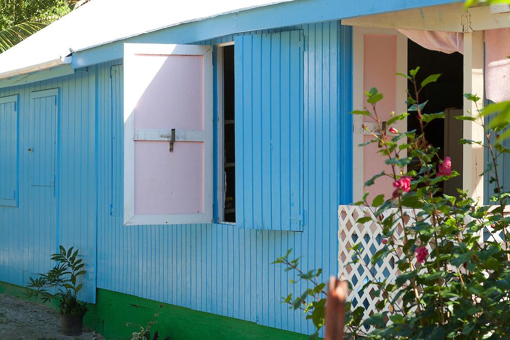Colorful window shades swing open once things cool down in Jost Van Dyke