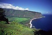 Waipio Valley, Island of Hawaii, Hawaii, USA<br />