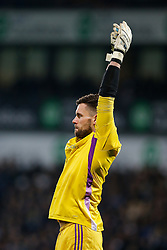 Ben Foster of West Brom stretches - Photo mandatory by-line: Rogan Thomson/JMP - 07966 386802 - 11/02/2015 - SPORT - FOOTBALL - West Bromwich, England - The Hawthorns - West Bromwich Albion v Swansea City - Barclays Premier League.