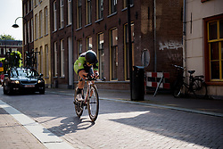 Rachele Barbieri at Boels Rental Ladies Tour Prologue a 4.3 km individual time trial in Wageningen, Netherlands on August 29, 2017. (Photo by Sean Robinson/Velofocus)