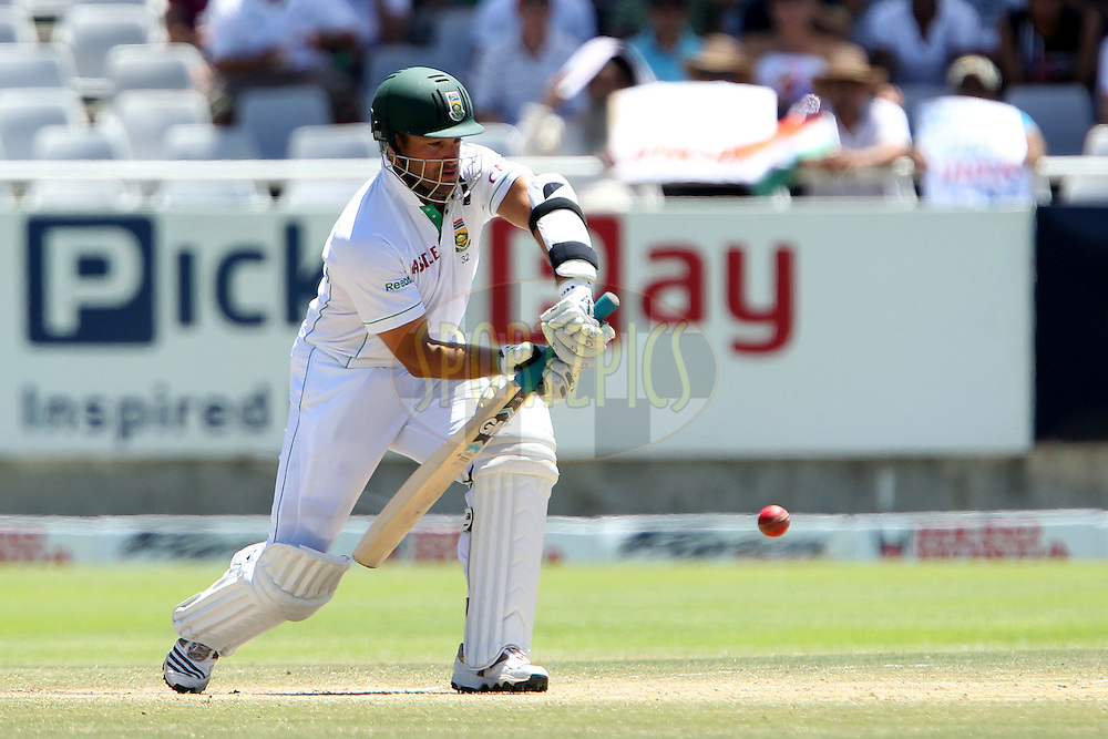 Mark Boucher of South Africa  during day 4 of the 3rd test between South Africa and India held at Sahara Park Newlands Stadium in Cape Town on the 5 January 2011..Photo by Ron Gaunt/BCCI/SPORTZPICS