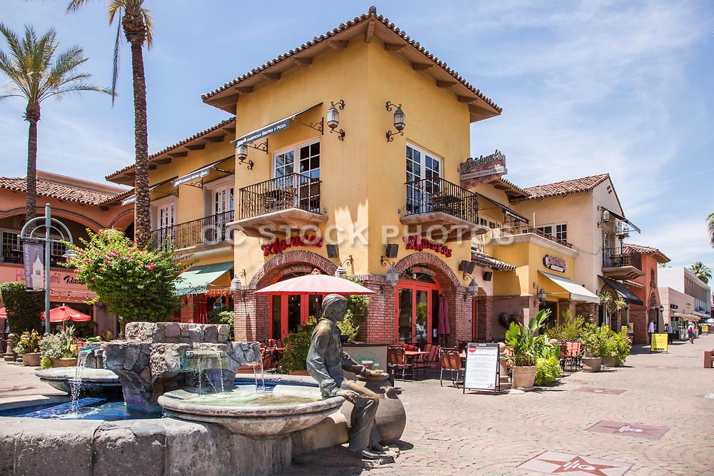 Mercado Plaza Downtown Palm Springs on Palm Canyon Drive