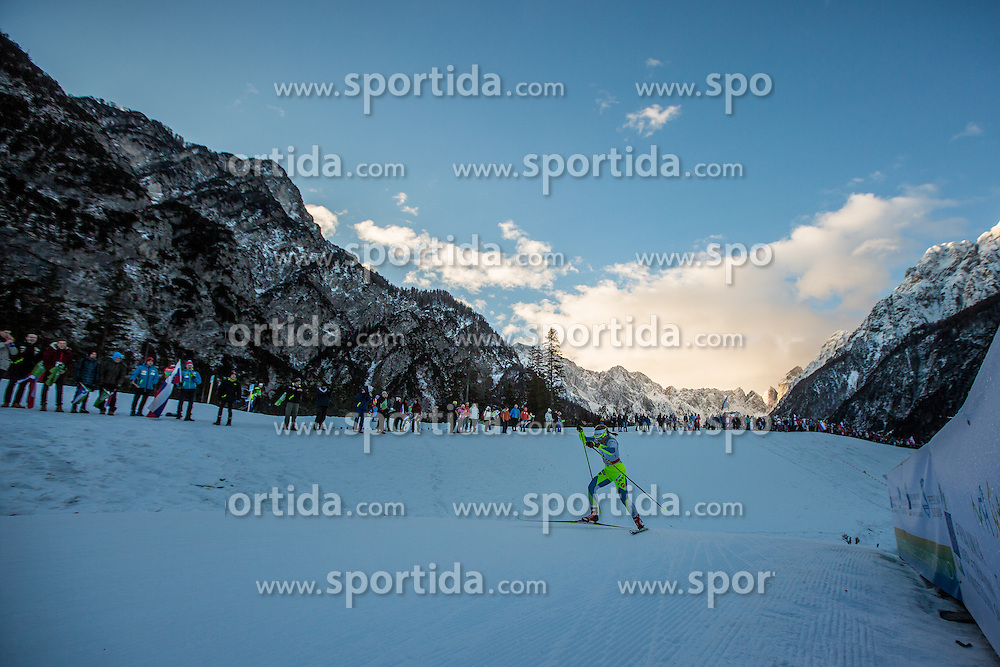 Razinger Nika of Slovenia during Ladies 1.2 km Free Sprint Qualification race at FIS Cross Country World Cup Planica 2016, on January 16, 2016 at Planica, Slovenia. Photo By Grega Valancic / Sportida