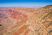 The Grand Canyon below Desert View, Grand Canyon National Park, Arizona